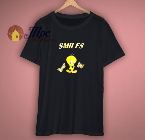 Smile Tweety Bird Shirt