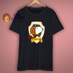 Snoopy Flying Ace Peanuts T Shirt