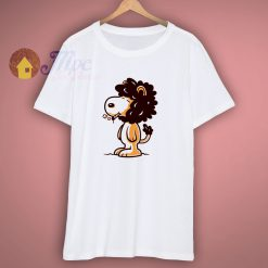 Snoopy Lion Funny T Shirt