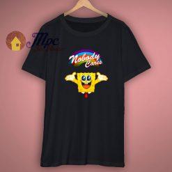 SpongeBob Nobody Cares Funny Shirt