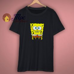 Spongebob Squarepants Basic Black Shirt