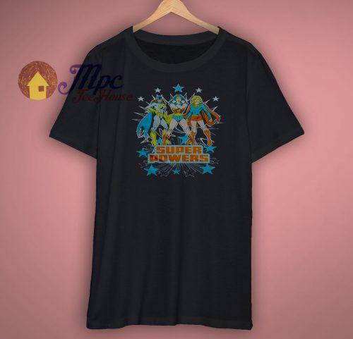 Super Powers Girls DC T Shirt