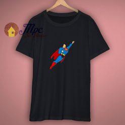 Superman In Flight Art Shirt On Sale