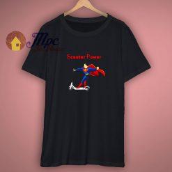 Superman Scooter Power Black Shirt