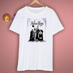 The Addams Family Movie Retro Classic Cult Comedy Vintage Shirt