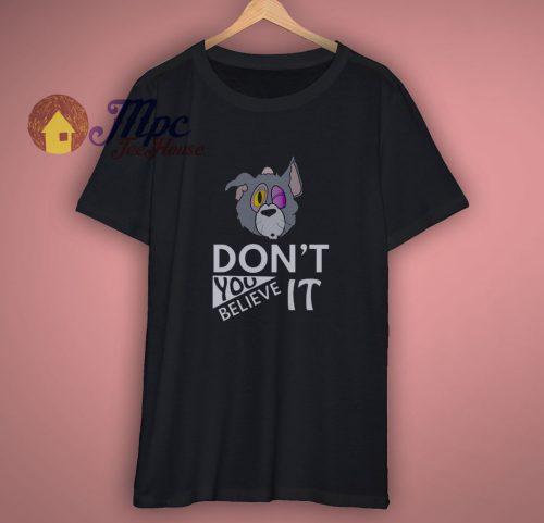 The Beaten Up Tom Cartoon Shirt