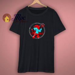 The Little Blue Devil Smurfs Shirt