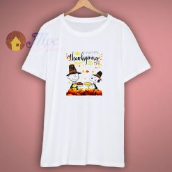 Vintage Cartoon Characters Charlie Brown Thanksgiving T Shirt