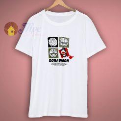 vintage 90s doraemon big image drawing Shirt