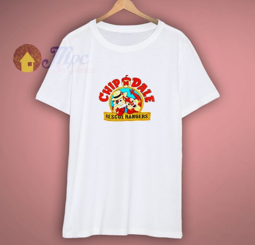 1990 Chip N Dale Rescue Rangers Vintage T-Shirt