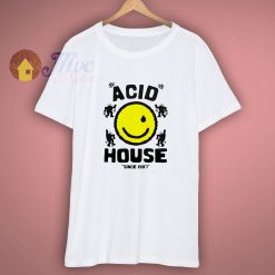 Acid House Smile Funny T Shirt