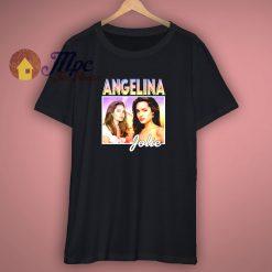 Angelina Jolie Vintage 90s T shirt