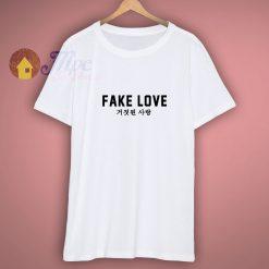 BTS Fake Love T Shirt