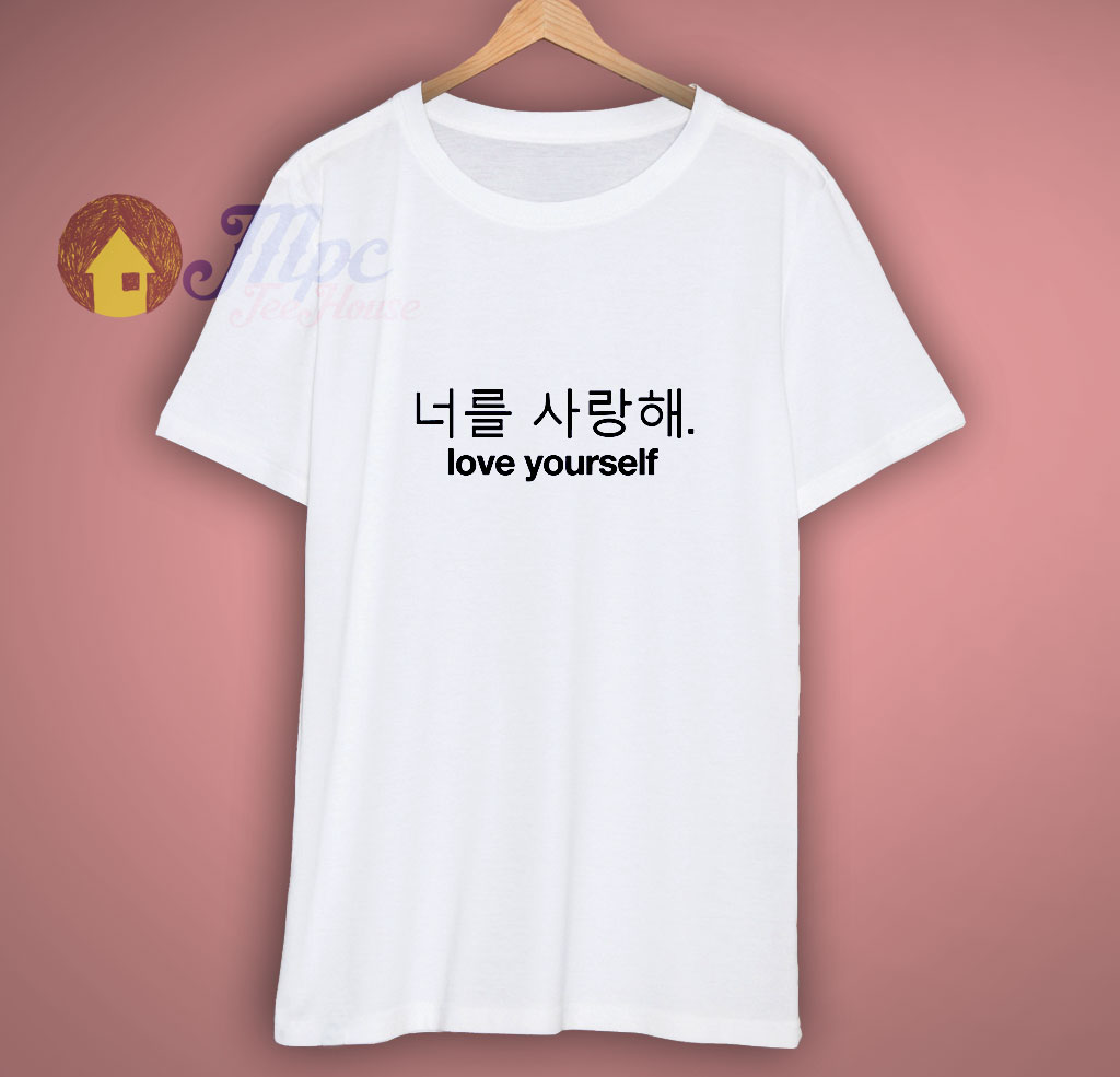 BTS shirt love yourself kpop tumblr T shirt