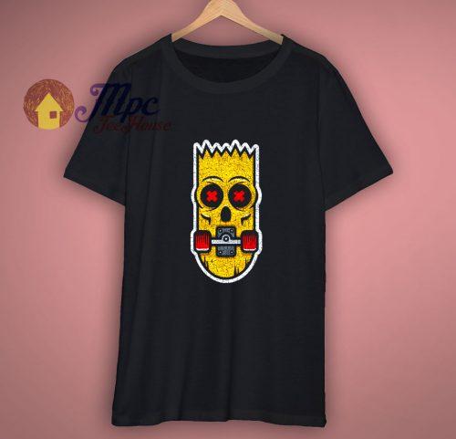 Bart Skate T Shirt Fun Skate Skate Sk8 or die Skater