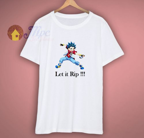 Beyblade Valt Vault let it rip tshirt