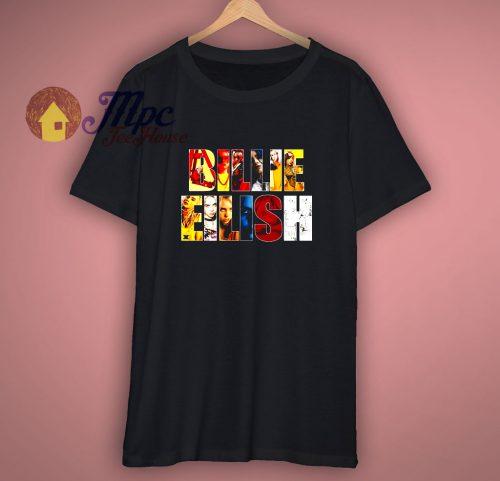 Billie Eilish Gift Unisex T shirt Singer Star