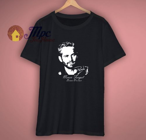 Cheap Graphic Tee Shirts Paul Walker Tshirt On Sale
