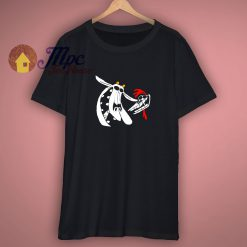 Cow And Chicken Skulls T Shirt