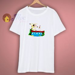 The Cow and Chicken T Shirt