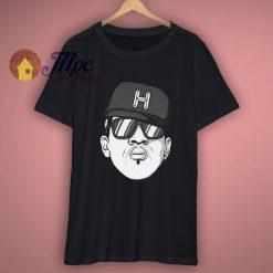 Custom Hip Hop Head Design T Shirt
