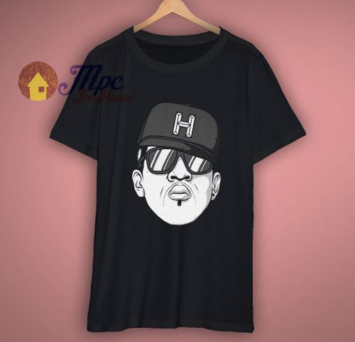 Custom Hip Hop Head Design T Shirt