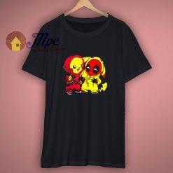 Deadpool And Pikachu Funny T Shirt