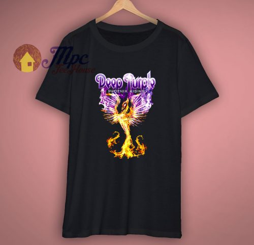 Deep Purple Phoenix Rising 1976 album music Blackmore T Shirt