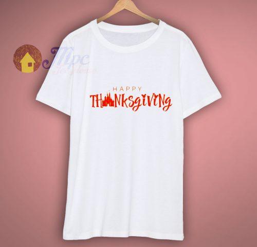 Disney Inspired Happy Thanksgiving Vinyl Shirt