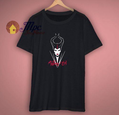 Disney Maleficent Mistress Of Evil Smirk T Shirt