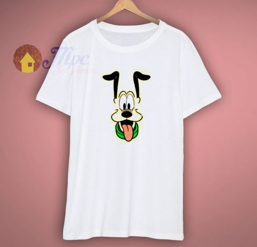 Disney Pluto Big Face Ears Up T Shirt