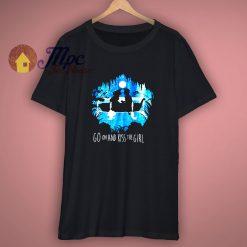 Disney The Little Mermaid Ariel Go On And Kiss The Girl T Shirt