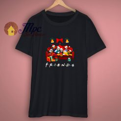 Donald Duck Goofy Dog Daisy Duck Pluto Dog Friends Christmas shirt