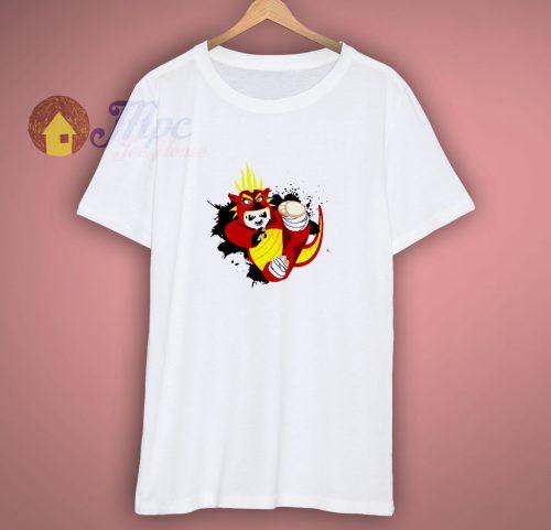 Dragon Warrior Panda T Shirt