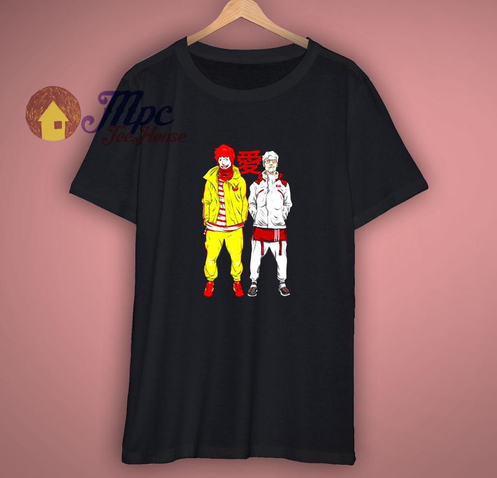 Fast Food Parody T Shirt