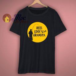 Fishing Gift Reel Cool Grandpa T-Shirt