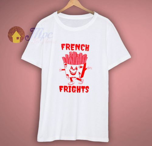 French Frights Back Print T Shirt