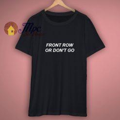 Front Row Tour Shirt