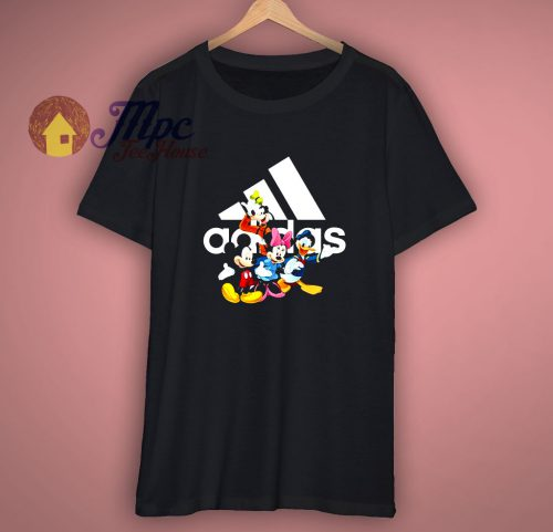 Funny Mouse And Friends With Adidas