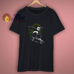 Funny Panda Skateboard T Shirt