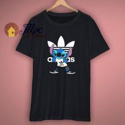 Funny Stitch Adidas Parody T Shirt