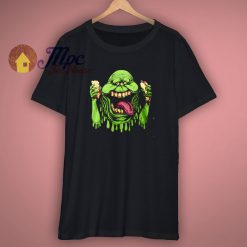 Ghostbusters 80s Movie Slimer T Shirt