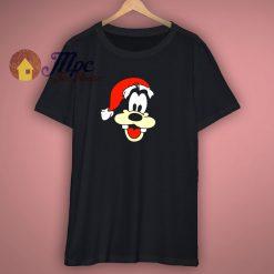 Goofy Santa Claus Christmas Disney T Shirt