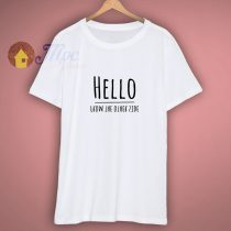 HELLO FROM THE OTHER SIDE T SHIRT TOP TEE ALBUM ADELE MUSIC