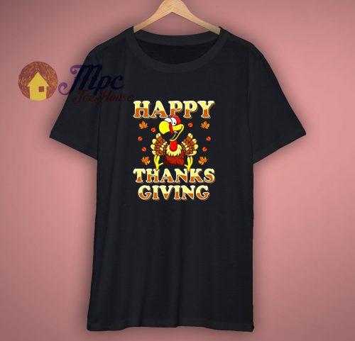 Happy Thanksgiving Turkey Shirts