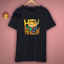 Hey Arnold Nickelodeon Cartoon T Shirt