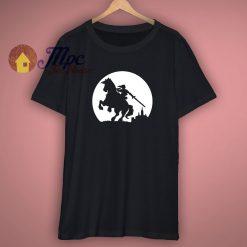 Hommes Zelda Lune Silhouette T Shirt