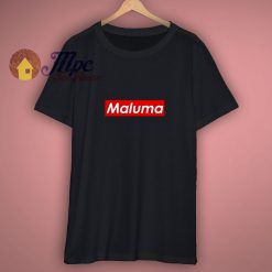 Maluma Red Block Popular Colombian Singer Music Lovers Fan T Shirt
