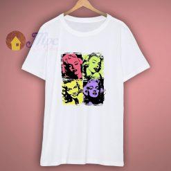 Marilyn Monroe Pop Art T Shirt