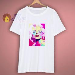 Marilyn Monroe Pop Singer Actress Men Women Top Unisex Shirt
